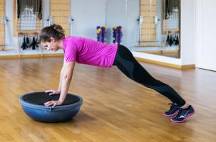 bosu strenght - kondiční trénink